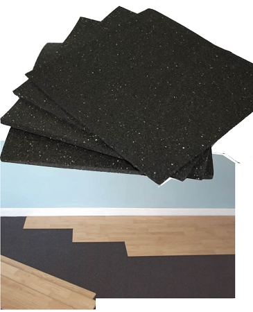 Hardwood floor underlayment ne soundproofing store for Wood floor underlay 5mm